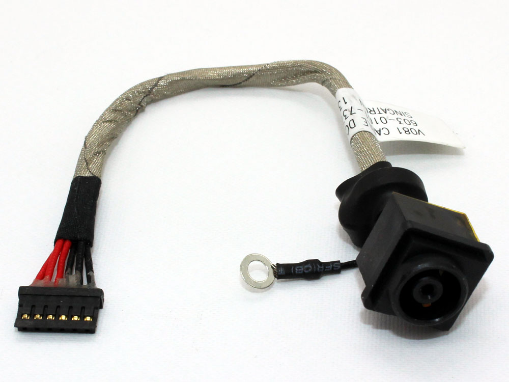 Sony VAIO VPCF2 PCG 81311L/M/T 81312L/M 81313L/M 81314L/M 1-967-773-21/41 V80 603-0001-6843_A V81 603-0001-7376_A Power Jack Charging Connector DC IN Cable