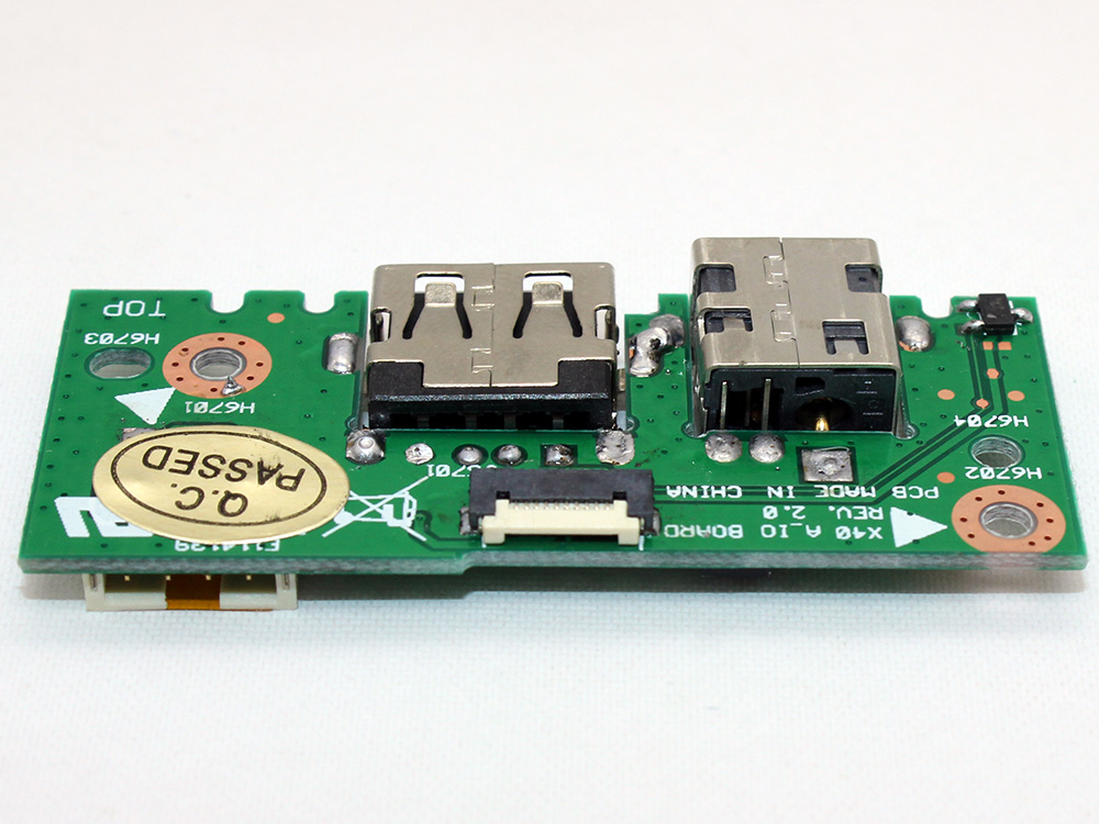 ASUS X301A X401A X501A 60-NLOIO1001-X01 32XJ1IB0010 90R-NLOIO1000U DC Power Jack Socket USB Port Connector Charging Board