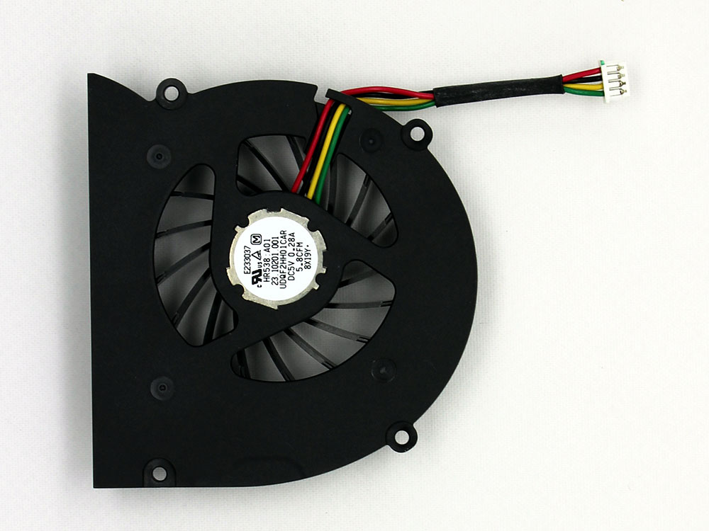 Dell Inspiron XPS M1330 M1310 1318 PP25L CPU Cooling Fan Replacement Assembly HR538 A01 UDQF2HH01CAR DFS481305MC0T F6M3-CCW GC055510VH-A 0YT243 0MM911 60.4C331.002 23.10201.001