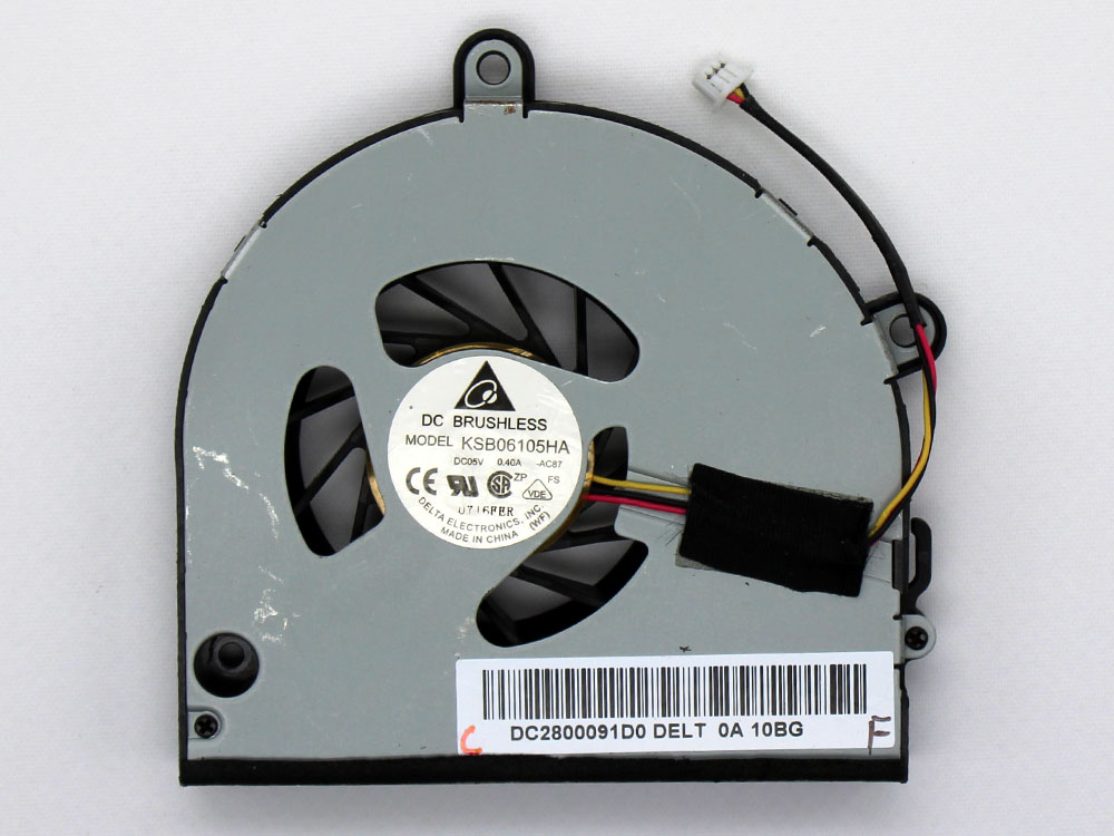 Gateway NEW75 NEW95 NV53A24U NV53A52U NV53A74U NV53A75U CPU Cooling Fan Replacement Assembly