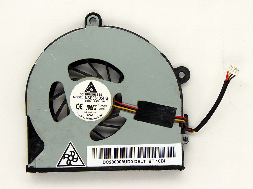 Toshiba Satellite P770 P775 P775D P850 P855 P855D CPU Cooling Fan Replacement Assembly KSB06105HB AB07505HX12BB00 MF60090V1-C261-S99 DC280009UD0 K000122760 DC28000ARD0 AT0OT0020C0
