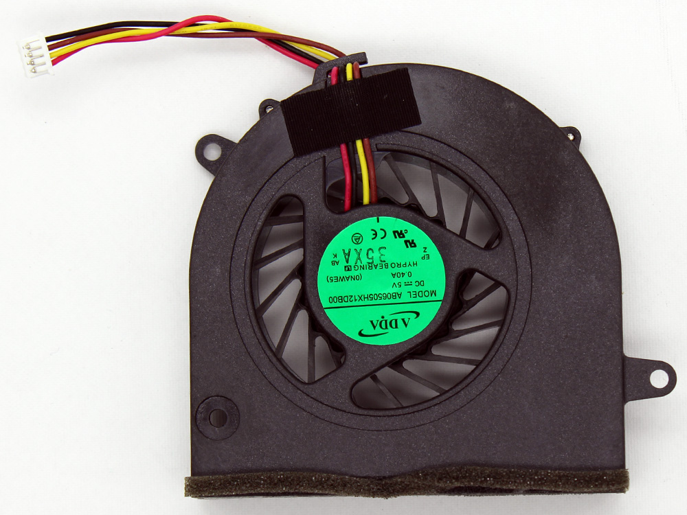 Lenovo IdeaPad G460 G460A G465 G560 G565 Z460 Z460A Z465 Z560 Z565 AB06505HX12DB00 CPU Cooling Fan Replacement Assembly