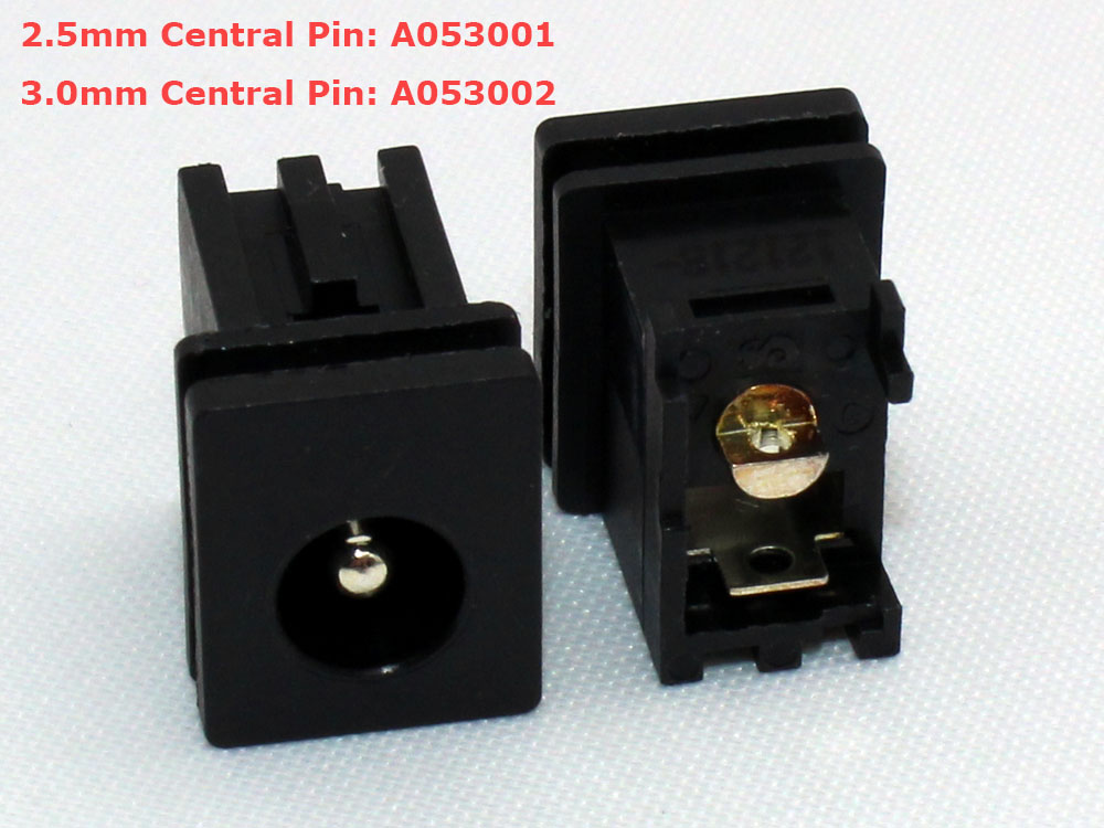 Toshiba 2.5mm 3.0mm Central Pin AC DC Power Jack Socket Connector Charging Port Replacement