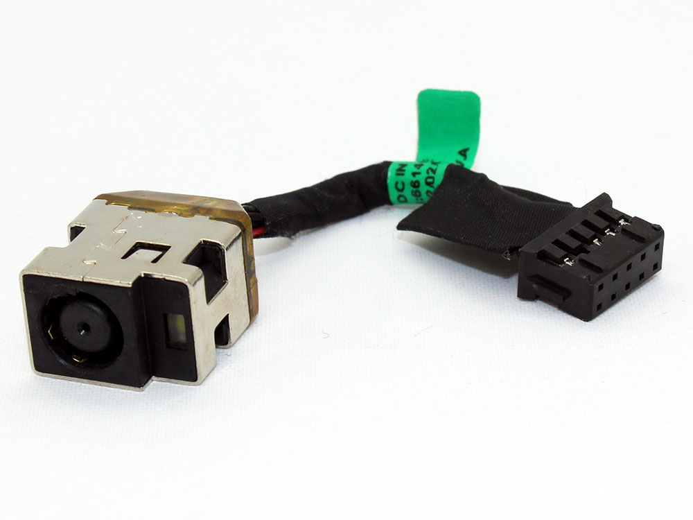 HP Envy 17 17-3000 17-3200 17T-3000 17T-3200 3D CTO 661451-301 661451-302 AC DC Power Jack Socket Connector Charging Port DC IN Cable Wire Harness