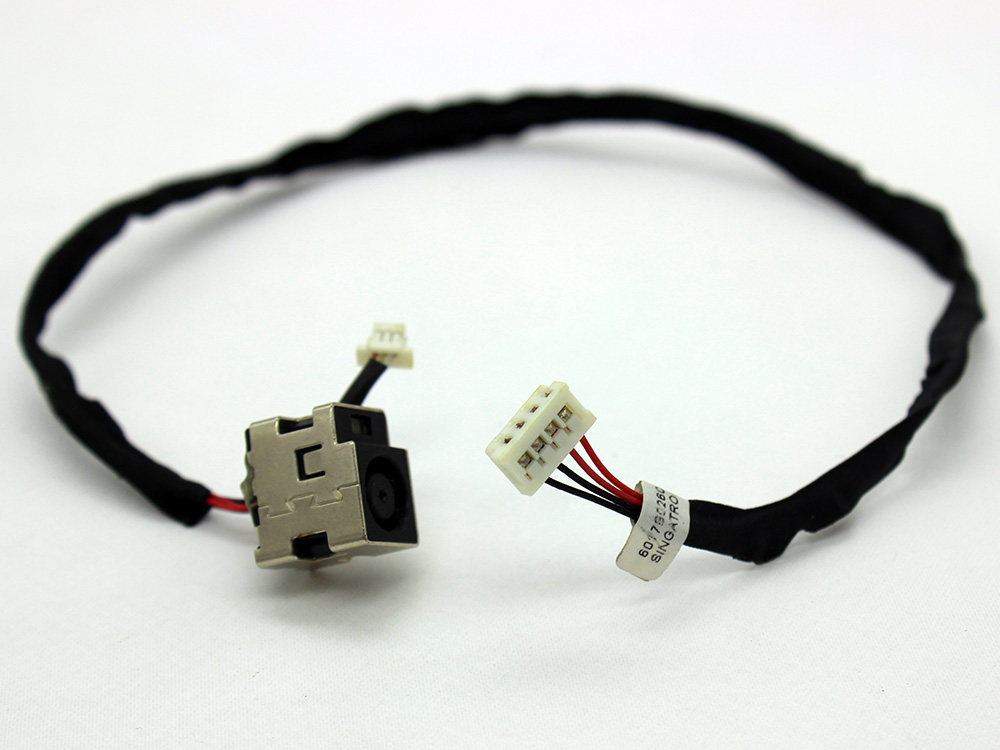 HP Envy 14 14-1000 14T-1000 14T-1100 14T-1200 608380-001 6017B0260301 AC DC Power Jack Socket Connector Charging Port DC IN Cable Wire Harness