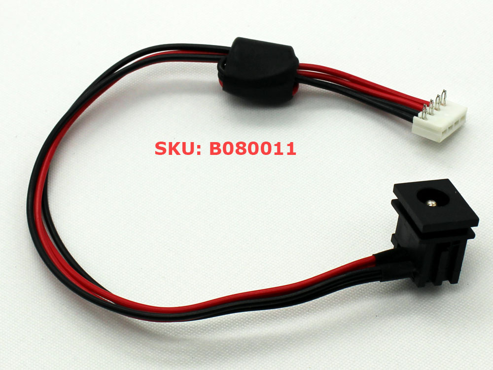 DC POWER JACK w// CABLE HARNESS TOSHIBA A205-S4618 A205-S4629 A205-S5811 CHARGING