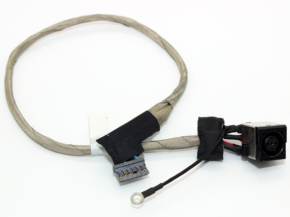 Dell Studio 1450 1457 1458 P03G 356-0001-6365_A00 Laptop AC DC Power Jack Socket Connector Charging Port DC IN Cable Wire Harness