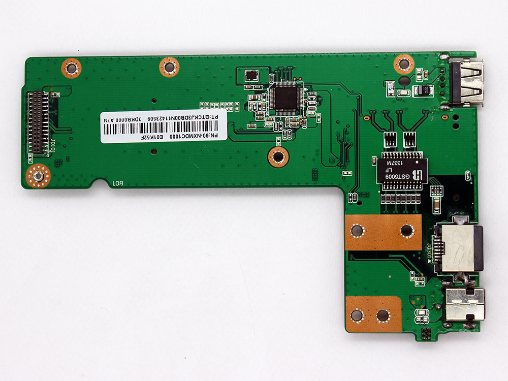 ASUS K52 X52 K52DE K52DR K52DY K52F K52JB K52JC K52JE K52JK K52JR K52JT K52JU K52JV K52N 60-NXMDC1000 DC Jack Power Button Mini Card RJ45 LAN USB Port Charging Board