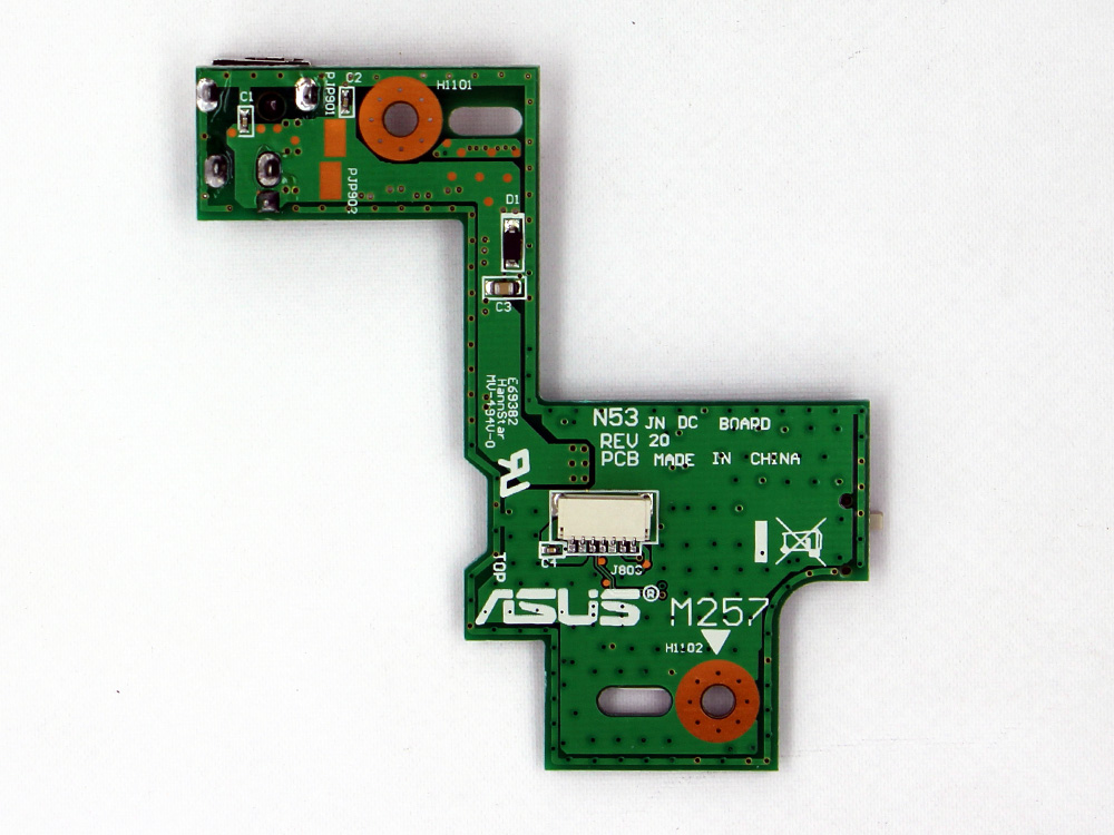 ASUS N53 N53DA N53JF N53JG N53JN N53JQ N53SM N53SN N53SV N53TA N53TK N53xx DC Power Jack Socket Button Connector Charging Board
