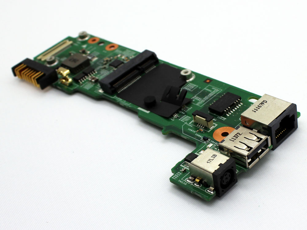 Dell Inspiron 14 N4020 N4030 48.4EK31.011 DC Power Jack Socket Connector USB LAN RJ45 Ethernet Port IN Charging Board
