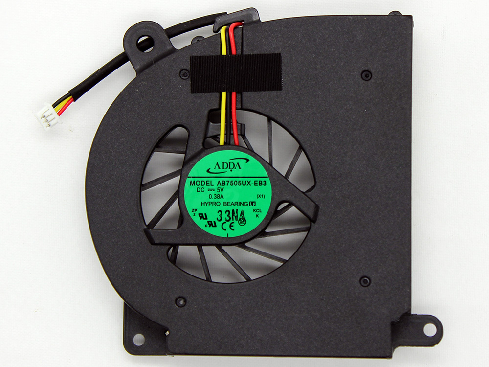 Acer Aspire 3100 5100 5101 5510 TravelMate 5210 5510 CPU Cooling Fan Replacement Assembly AB7505UX-EB3 DC280002S00 DC280002T00 DC280002K00 23.ABHV5.001 GB0506PGV1-A 13.V1.B2213.F.GN DC28002J00 UDQFZZH06CCM