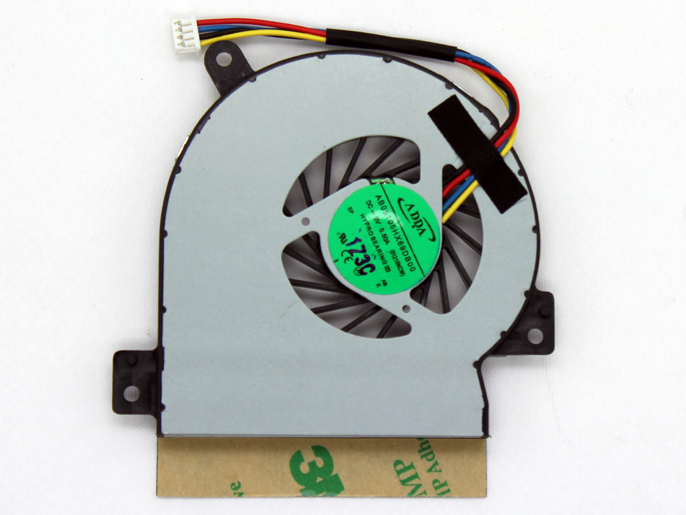 Asus EeePC Eee PC 1215 1215B 1215N 1215P 1215T 1215TL 1225 1225B 1225U AB05105HX69DB00 KSB05105HA CPU Cooling Fan Assembly Replacement