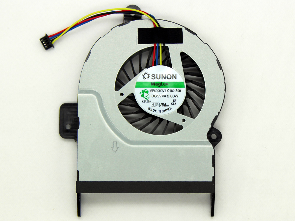 Asus X45 X45C X45VM X55 X55A X55C X55S X55U X55V X55VD MF60090V1-C480-S99 CPU Cooling Fan Assembly Original