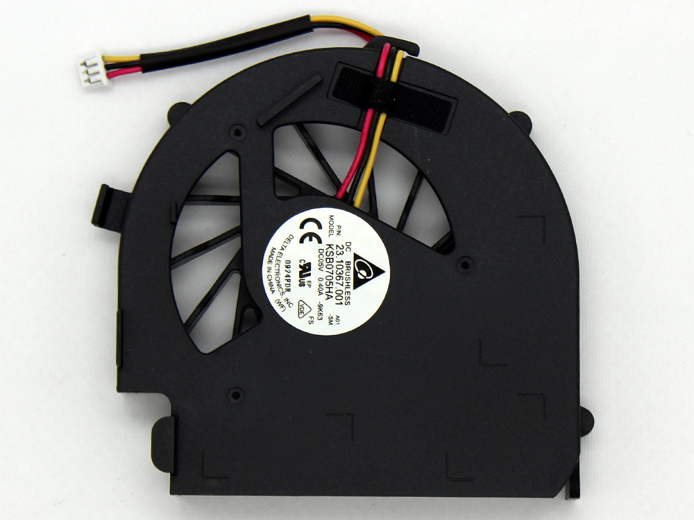 Dell Inspiron 14V M4010 N4020 N4030 CPU Cooling Fan Replacement Assembly MCF-W17BM05 23.10367.011 DFS481305MC0T KSB0705HA KSB05105HA 9K63 F9N2