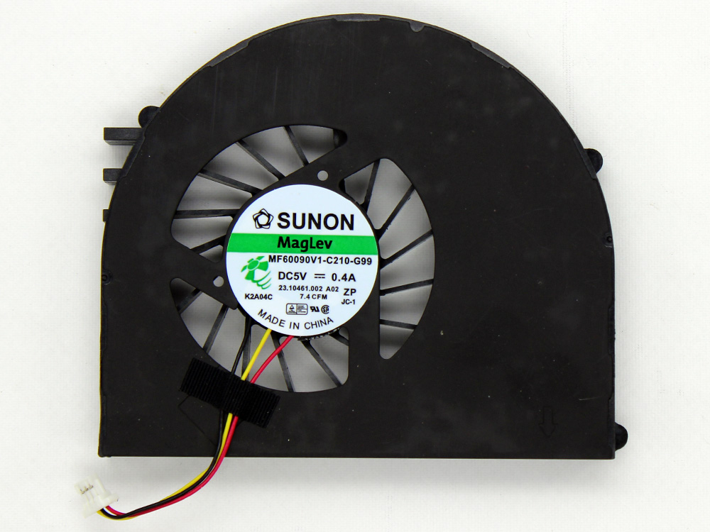 Dell Inspiron 15R N5110 CPU Cooling Fan Replacement Assembly MF60090V1-C210-G99 23.10461.002 DFS501105FQ0T FA80 CN-0J1VPC 0RF2M7